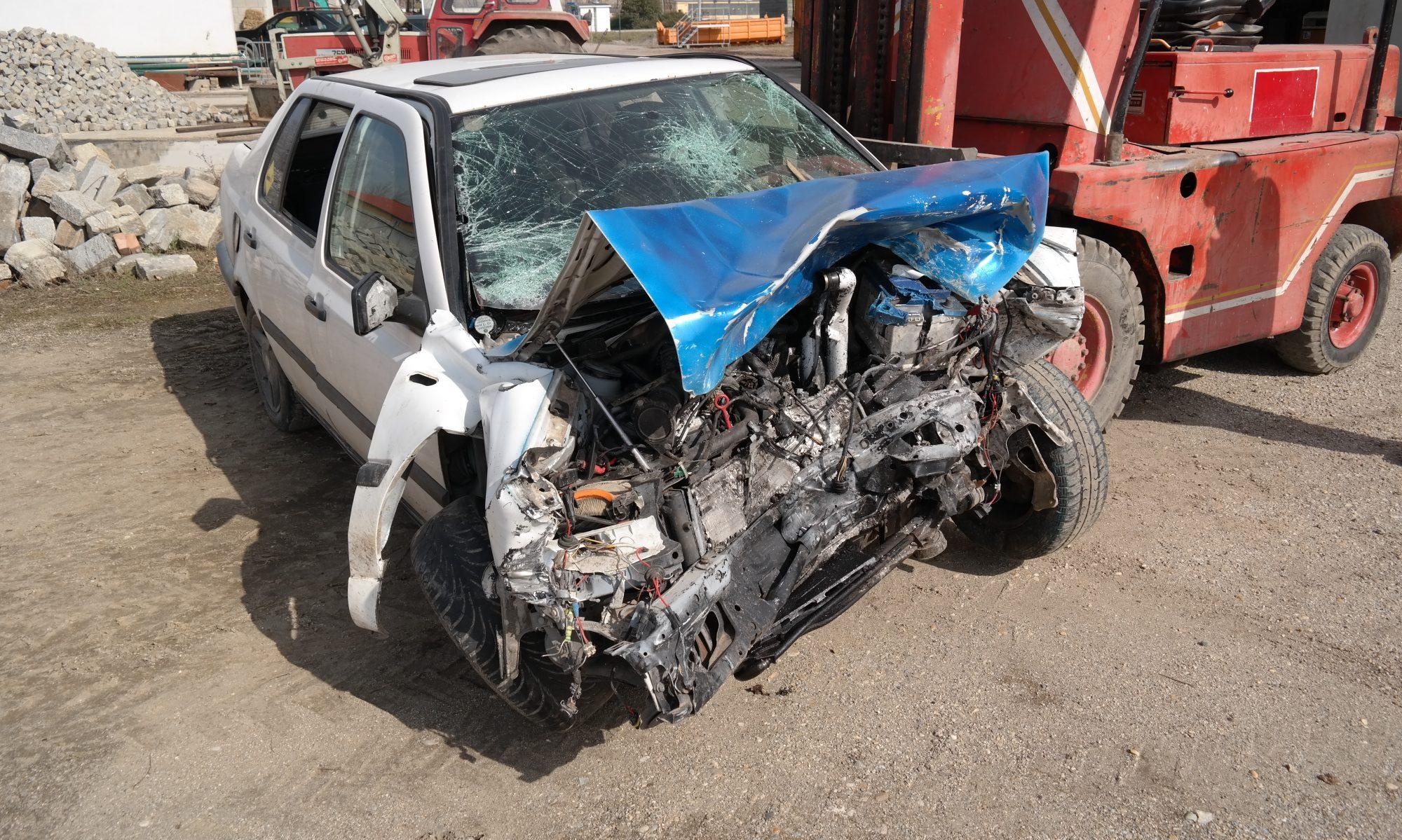 Unfall-Crash